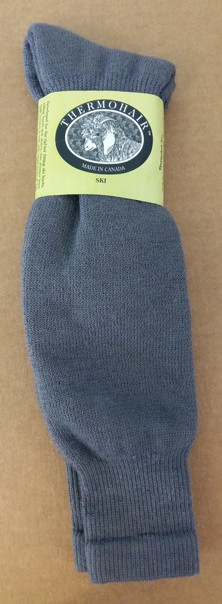 Ski Socks - CHARCOAL GREY