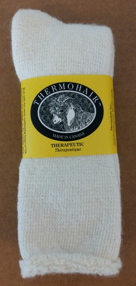 Therapeutic Style Socks - NATURAL